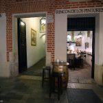 entrée du bar restaurant bodega El Pimpi, calle Granada, Malaga