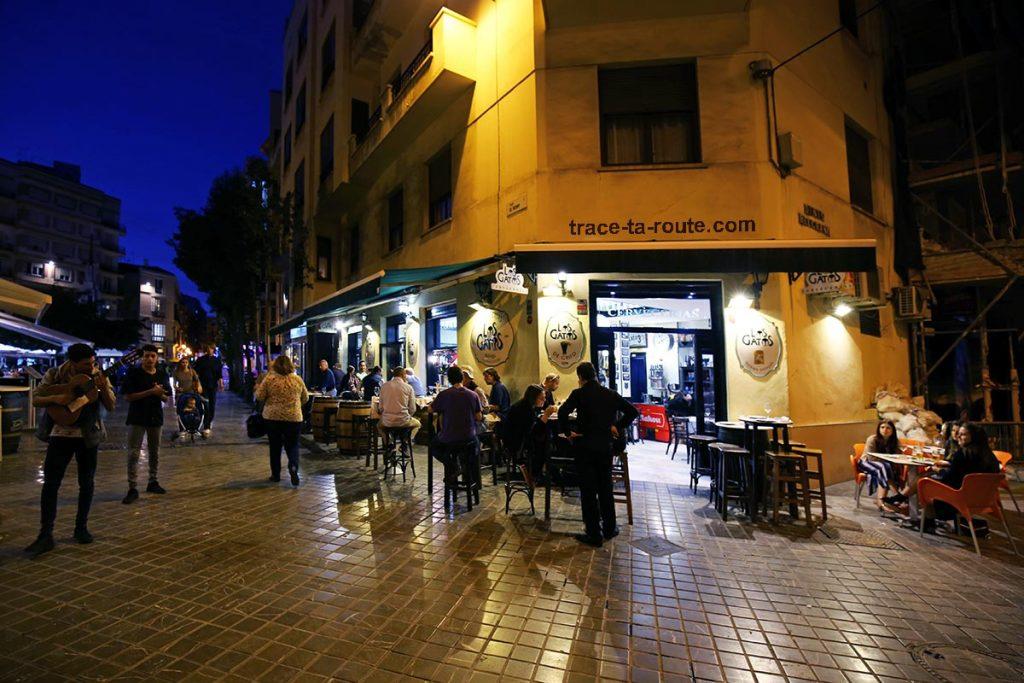 Los Gatos - bar à tapas restaurant, Malaga