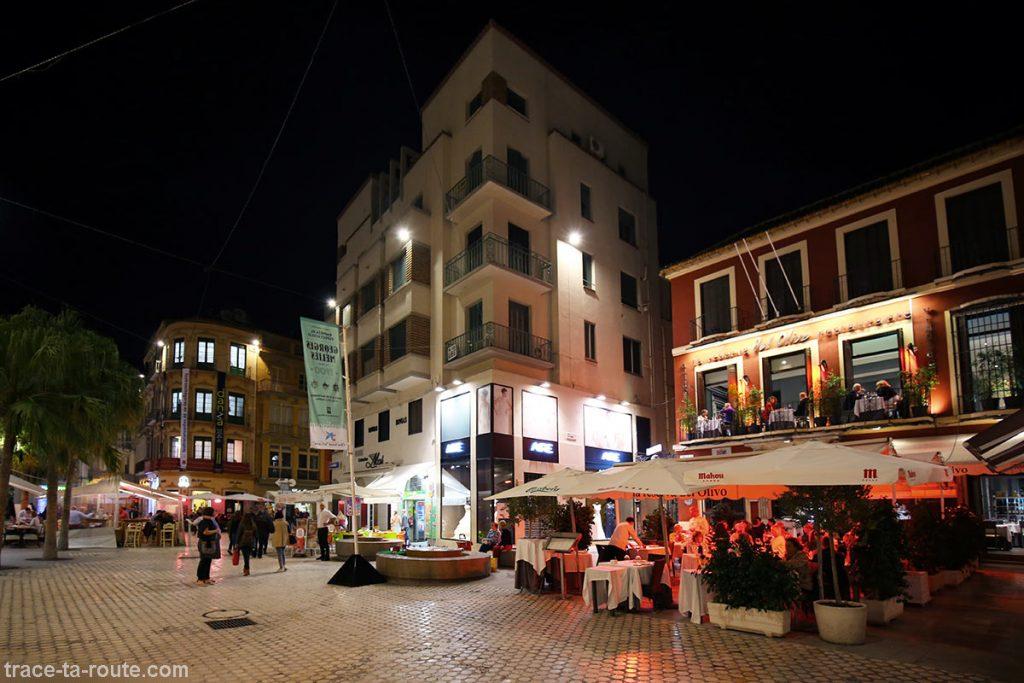 Plaza Carbon, Malaga