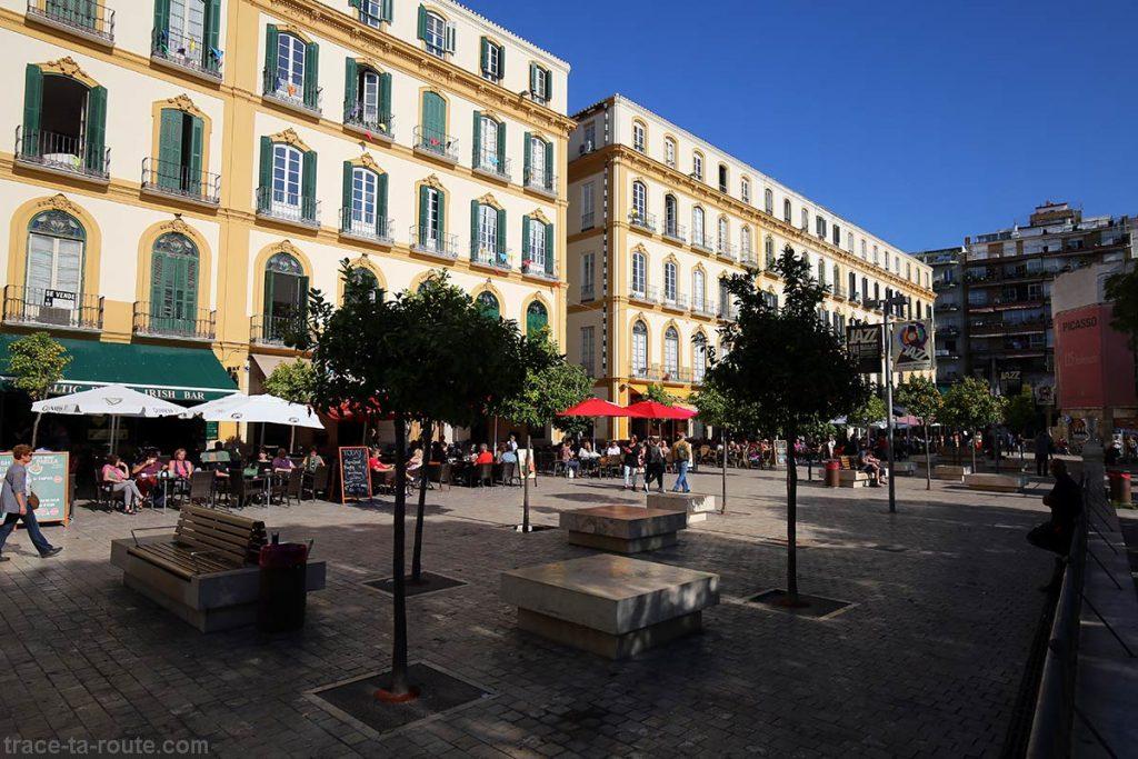 Bars Plaza de la Merced, Malaga