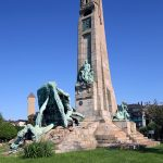 Monument à Evaristo de Churruca - Las Arenas, Getxo, Bilbao