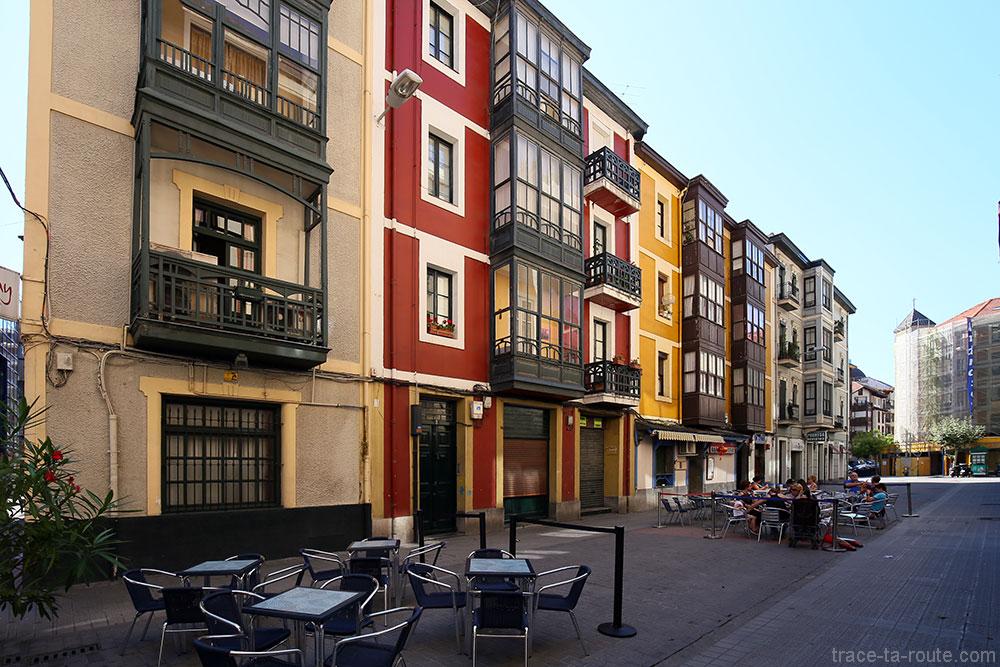 Adiskidetasuna Kalea, Las Arenas, Getxo, Bilbao