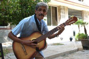Guitariste à la Havane