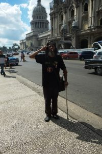 Havana vieja - figurant - blog voyages