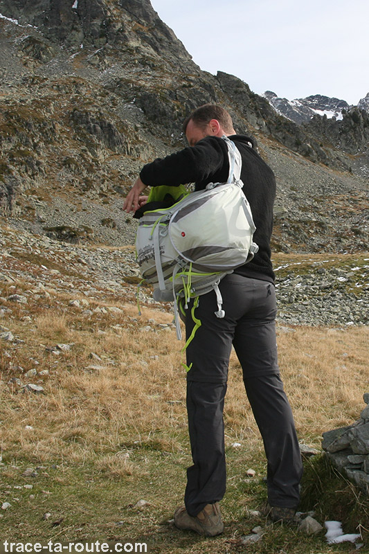 Sac à dos MANFROTTO OFFROAD 30L en randonnée photo en Belledonne