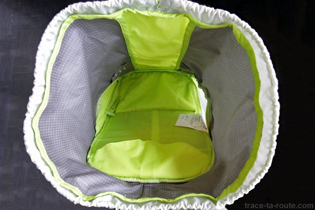 Volume intérieur du sac à dos MANFROTTO OFFROAD 30L randonnée photo