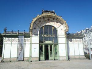 Station de métro Art Nouveau - Vienne