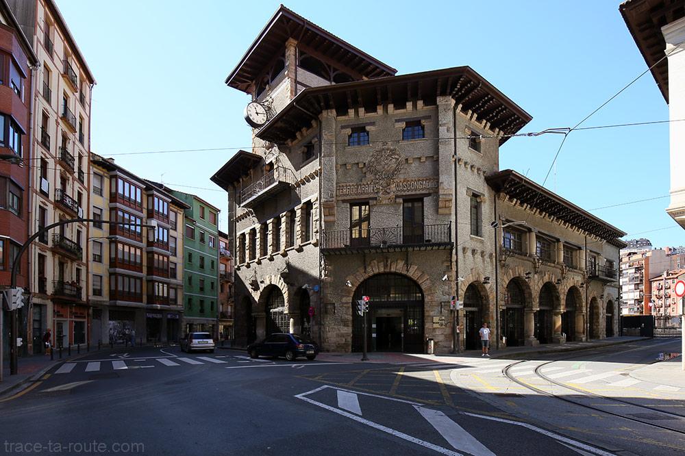 La Gare d'Atxuri de Bilbao, dans Casco Viejo