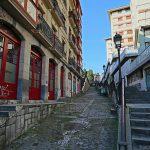 Escaliers Mallona Galtzada au-dessus de la Vieille Ville de Bilbao (Casco Viejo)