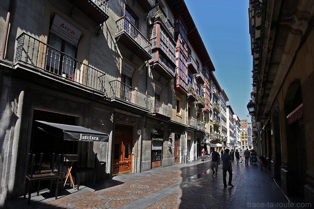 Andra Maria kalea dans Casco Viejo à Bilbao