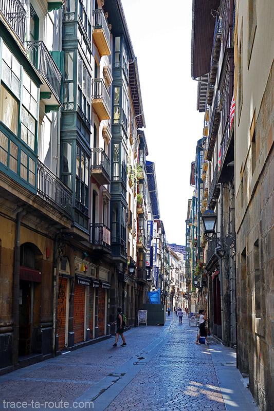 Siete Calles dans Casco Viejo de Bilbao