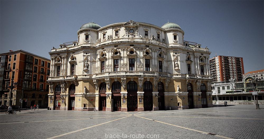 Le Théâtre Arriaga de Bilbao (Teatro Arriaga Bilbao)