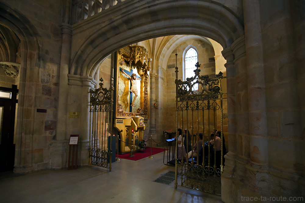 Chapelle à l'intérieur de la Cathédrale de Santiago de Bilbao