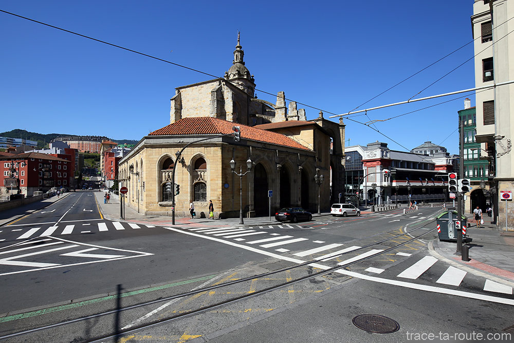 Église San Antón et Marché de la Ribera à Bilbao (Casco Viejo)