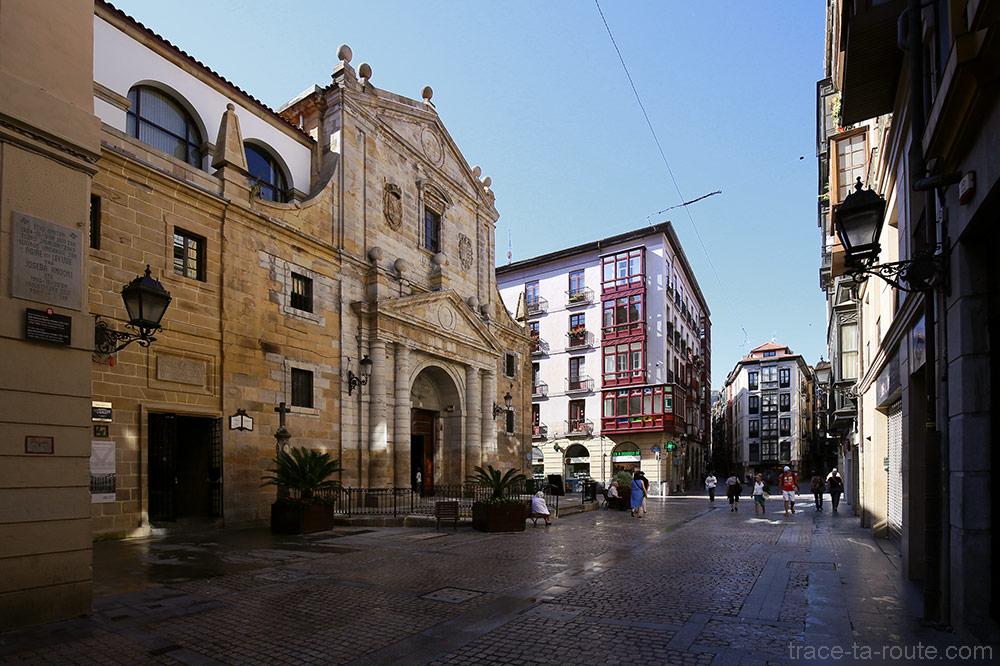 Église Santos Juanes, Gurutze kalea, Casco Viejo, Bilbao