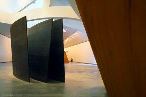 """Sculptures """"La matière du temps"""" (1994) Richard SERRA - Musée Guggenheim Bilbao"""