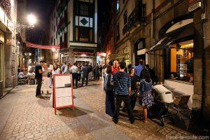 Bars à Pintxos Zazpi Bide Taberna - Dorre Kalea, rue dans la Vieille Ville de Bilbao (Casco Viejo)