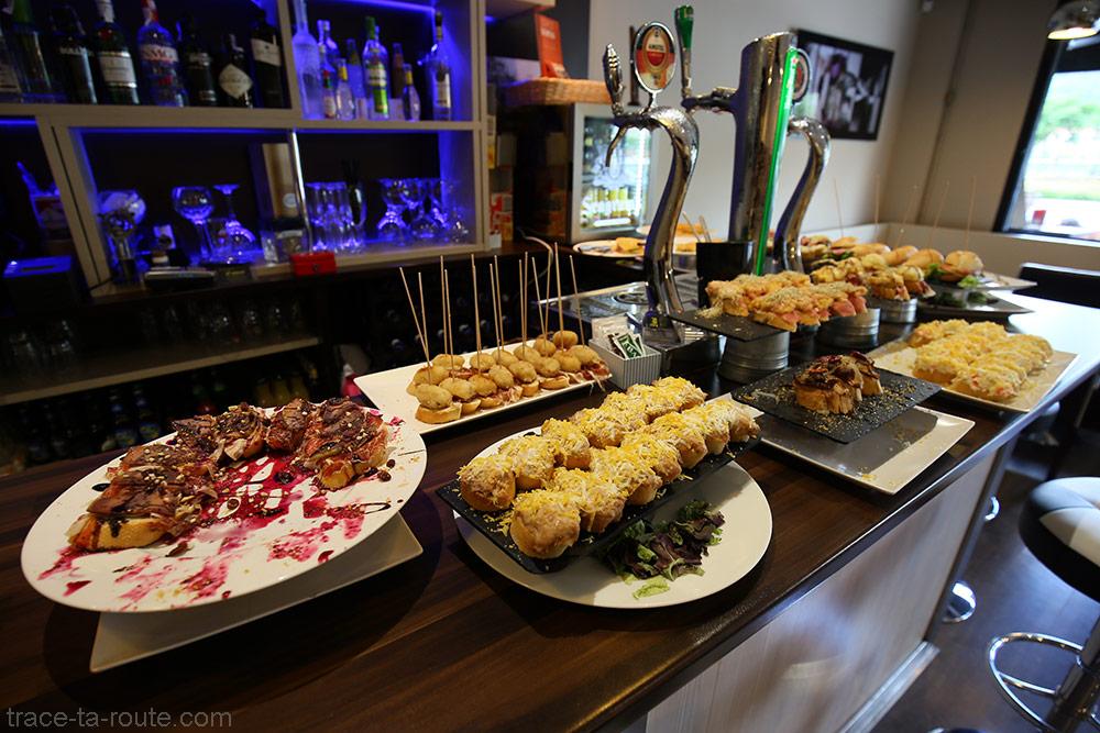 Bar à Pintxos - Restaurant L'Entrecot Bilbao