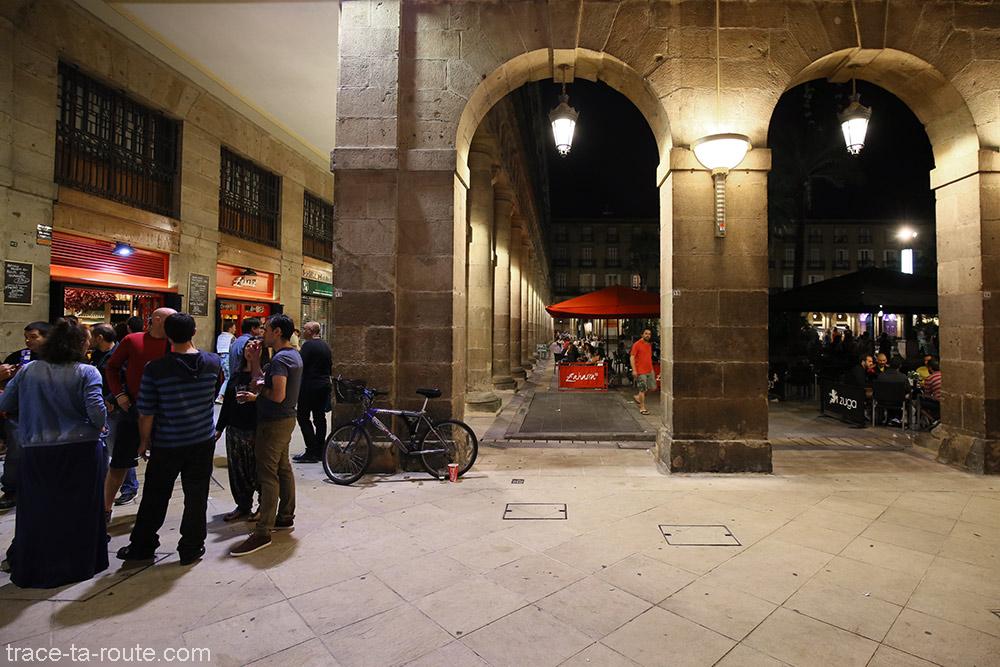 Arches de la Plaza Nueva de Bilbao