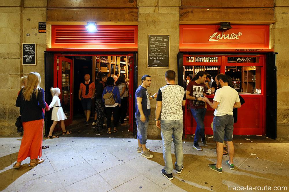 Restaurant tapas Bar à pintxos Zaharra - Plaza Nueva Bilbao