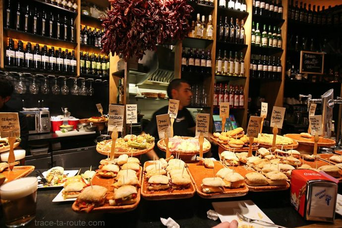 Pintxos Bar Zaharra - Plaza Nueva Bilbao