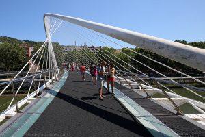 Pont Zubizuri (Santiago Calatrava) Bilbao
