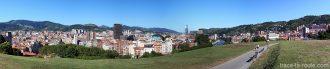 Vue panoramique de Bilbao depuis le Parc Etxebarria
