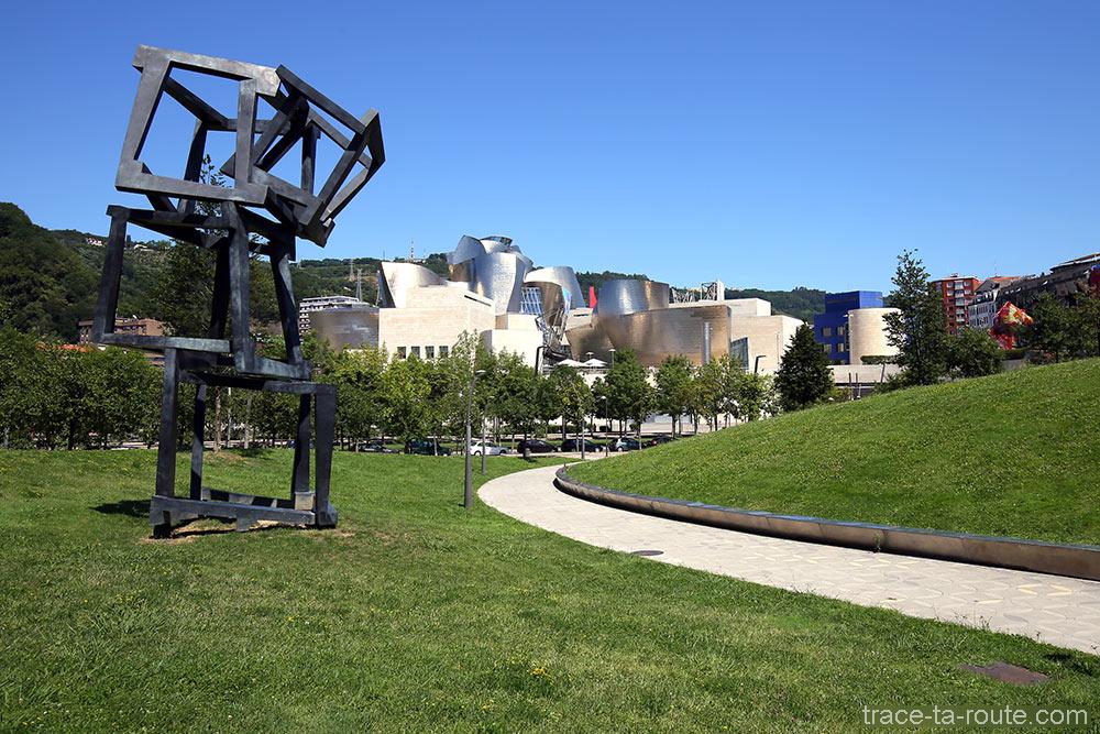 """""""Chaos Nervion"""" Jedd NOVATT - Parc Musée Guggenheim Bilbao"""