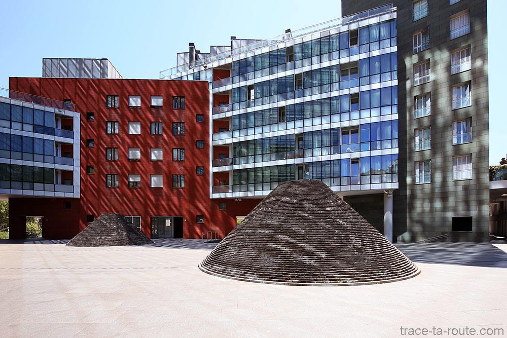 Sculptures en pierres à Bilbao