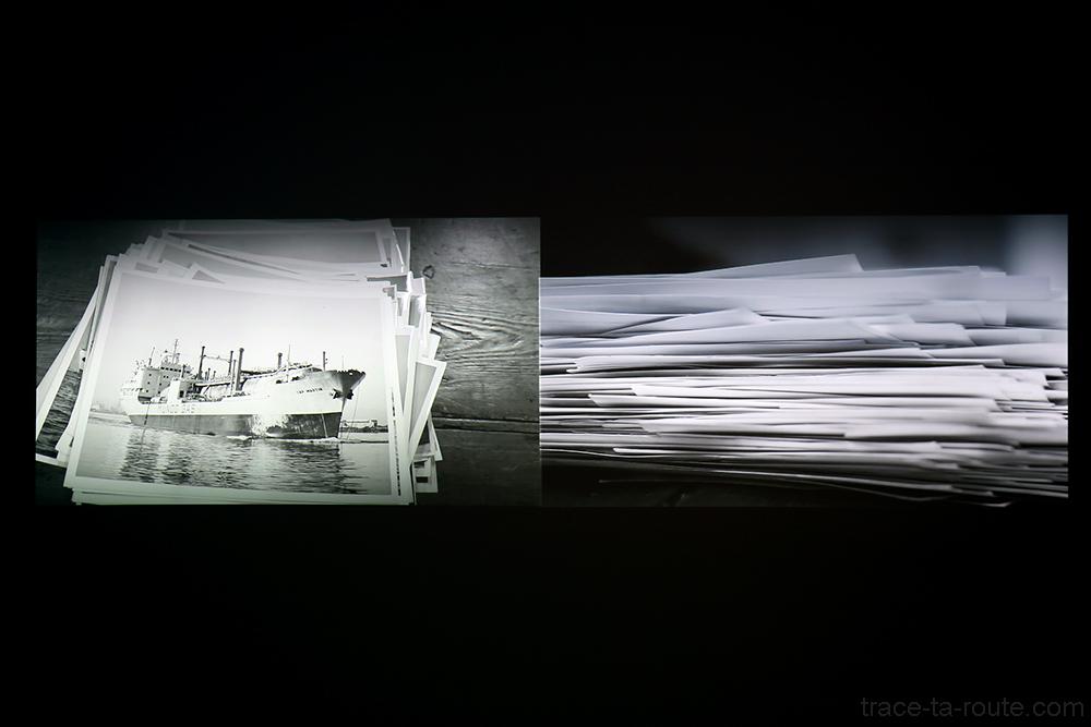Transmettre en abîmes (2012) Zineb SEDIRA - Exposition Prix Marcel Duchamp 2015 Carré d'Art de Nîmes