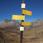 Itinéraires randonnées depuis le Col de la Croix de Fer et Aiguilles de l'Argentière en fond - Maurienne Savoie