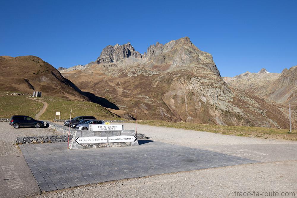Col du Glandon avec les Aiguilles de l'Argentière en fond - Maurienne Savoie
