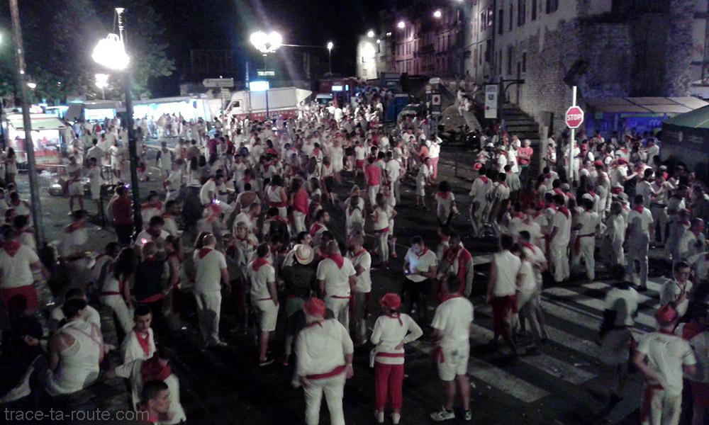 Fêtes de Bayonne - Porte d'Espagne et avenue de Pampelune