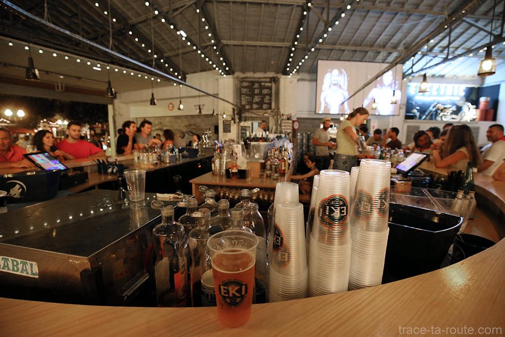 """Bar éphémère """"Chez Renauld"""" à Saint-Jean-de-Luz (2015)"""