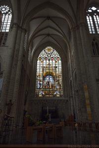 Vitrail de l'Église des Saints-Michel et Gudule de Bruxelles