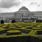 Verrière dans le Jardin Botanique de Bruxelles