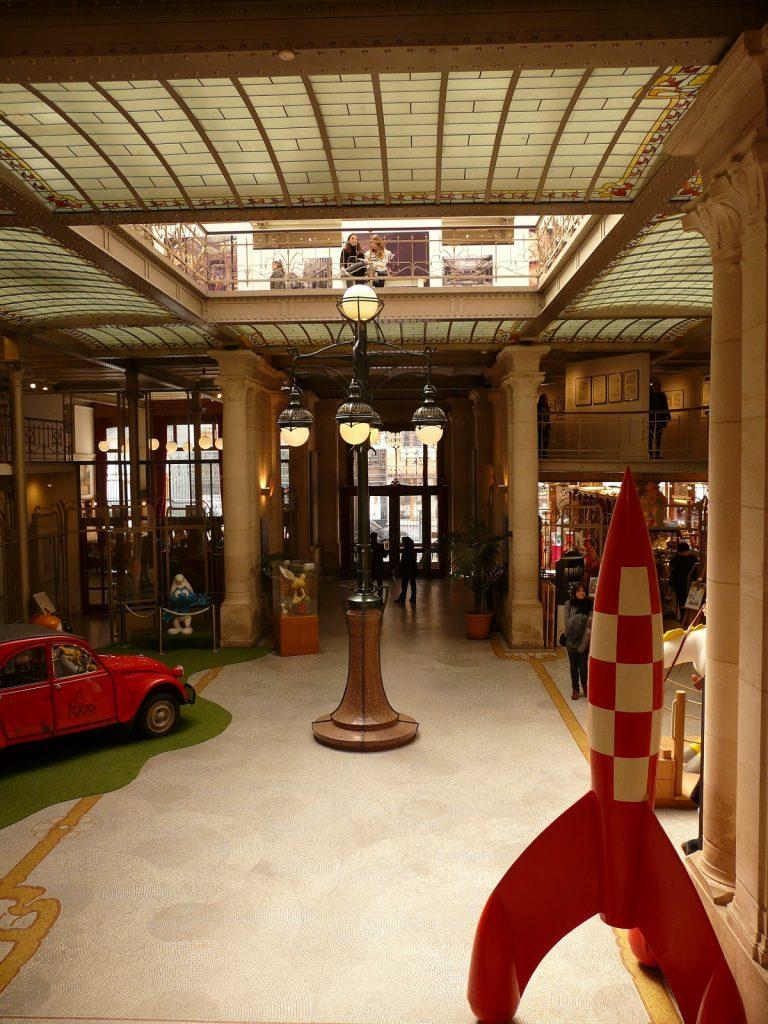 Musée de la BD de Bruxelles - blog voyages