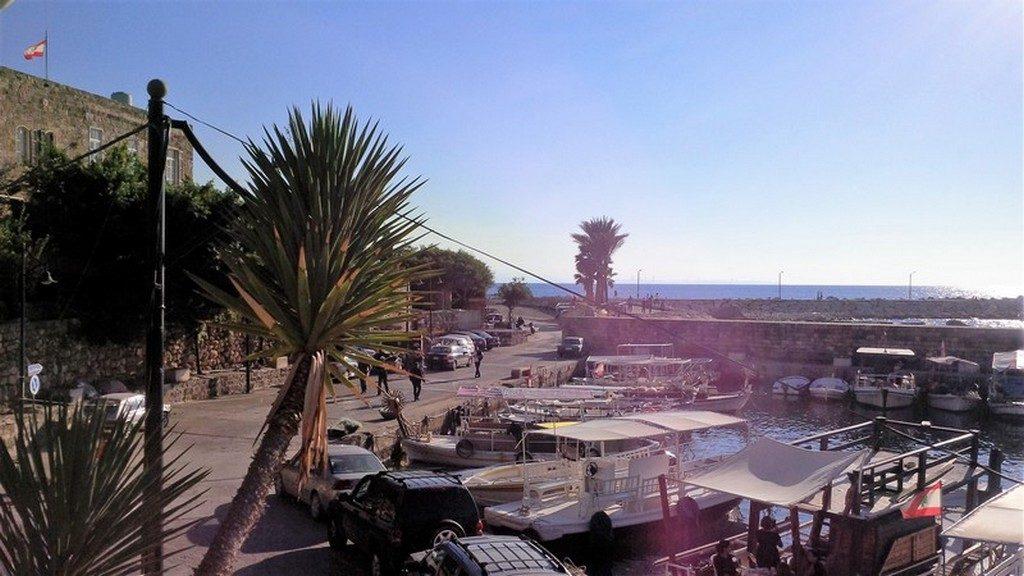 Ville de Byblos, vue depuis Chez Pepe