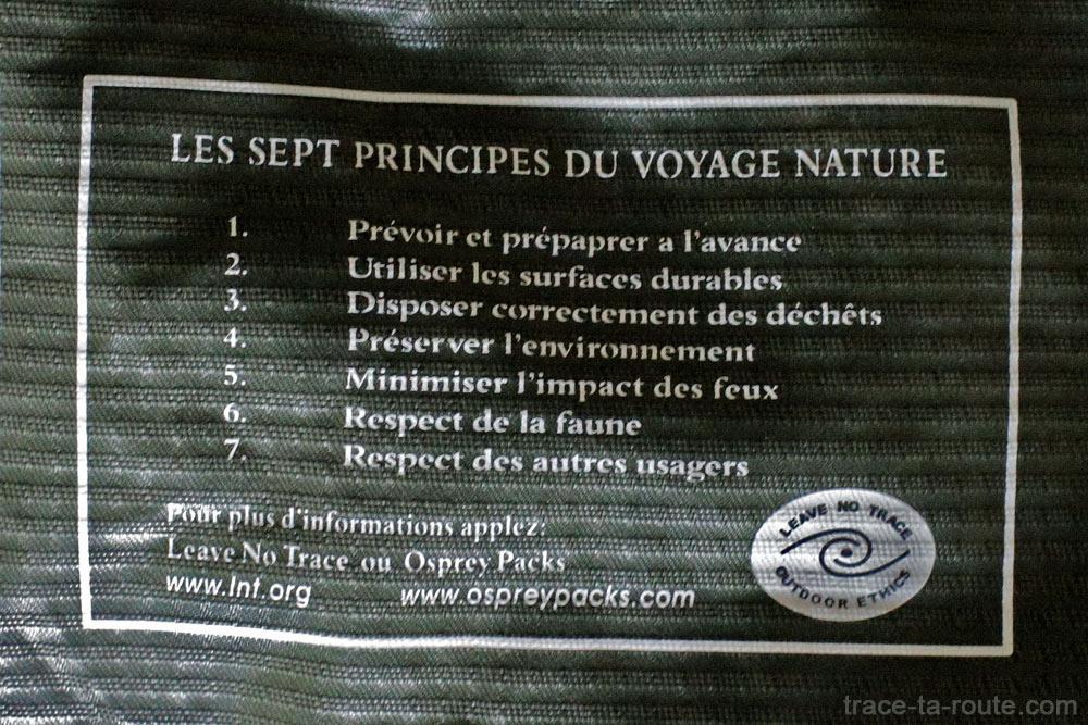 Test du sac à dos Osprey Atmos AG 65 : principes à l'intérieur