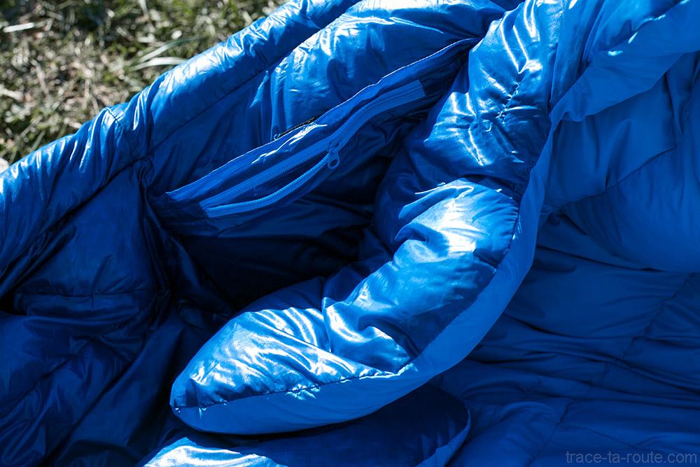 Poche intérieure du sac de couchage PHANTOM TORCH 3° de Mountain Hardwear