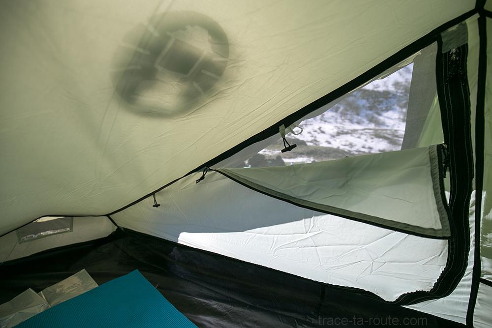 Moustiquaire à l'intérieur de la tente Aravis 2 Coleman