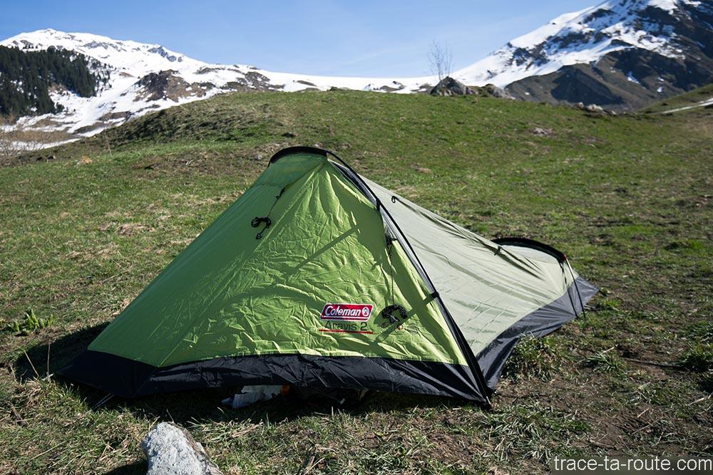 La tente Aravis 2 Coleman