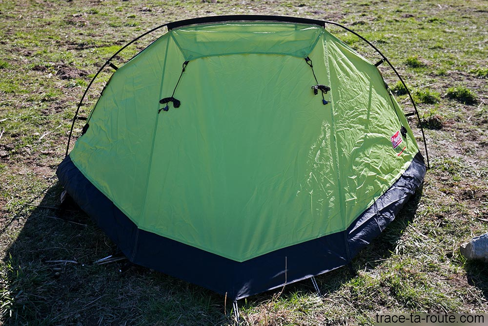Arrière de la tente Aravis 2 Coleman