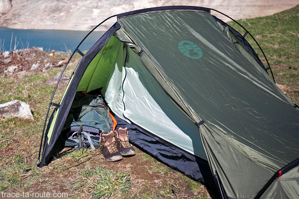 Abside de la tente Aravis 2 Coleman