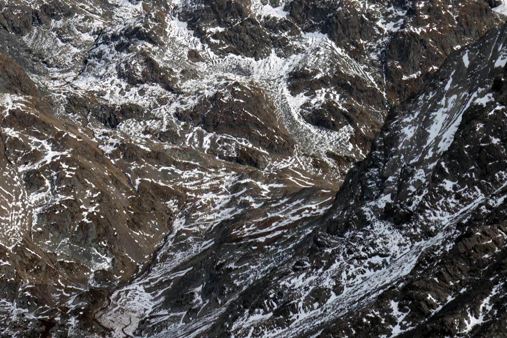 Col de la Pra depuis la pointe au sommet du Grand Colon en Belledonne