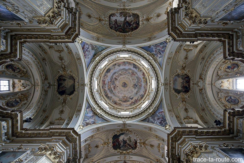 Voute intérieur de la Cathédrale de Bergame Duomo (Città Altà Bergamo)