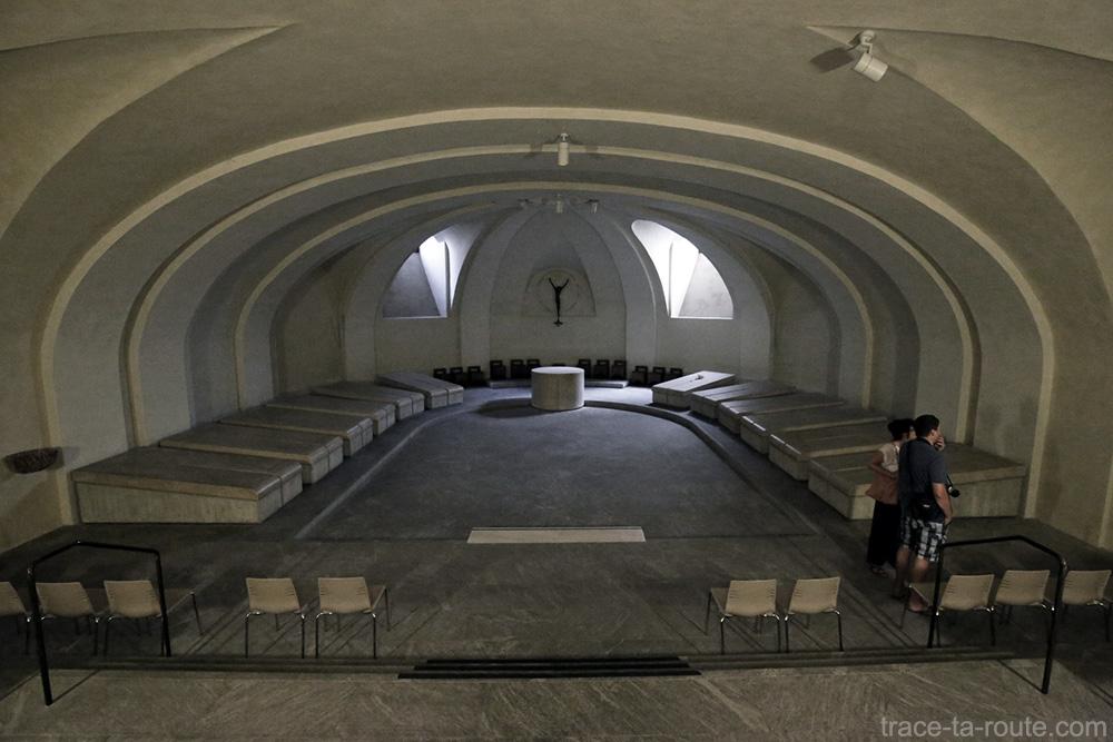 Cripte intérieur de la Cathédrale de Bergame Duomo (Città Altà Bergamo)