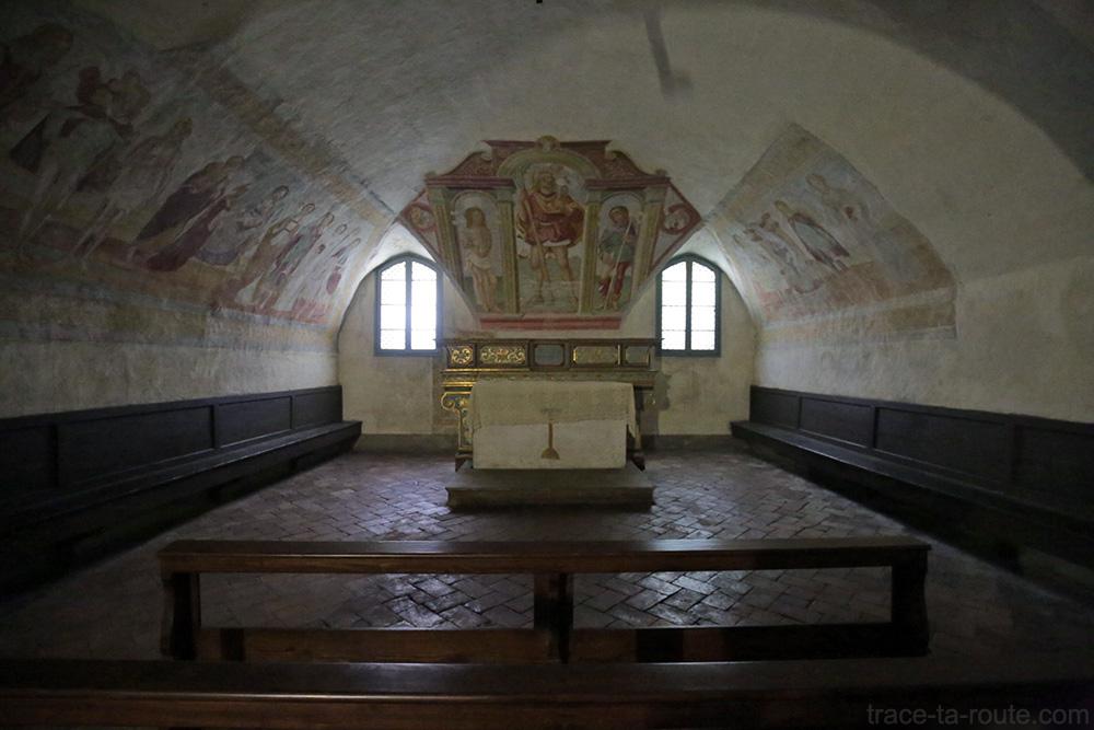 Fresques Eglise San Michele al Pozzo Bianco de Bergame (Città Altà Bergamo)