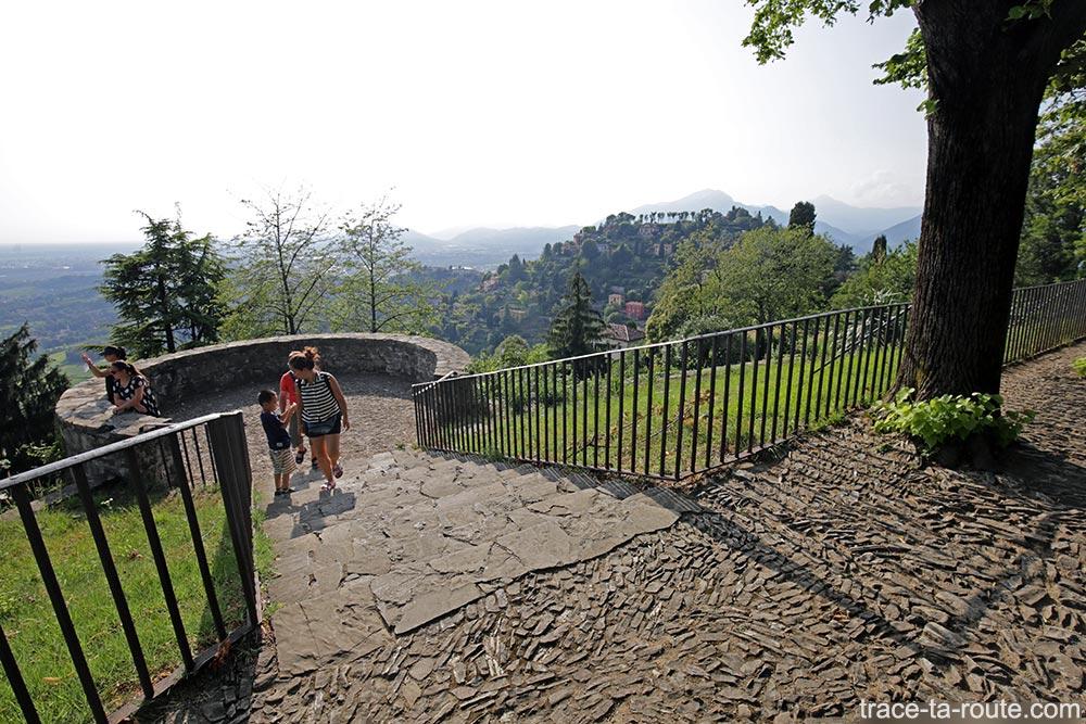 Château San Vigilio de Bergame (Castello Città Altà Bergamo)