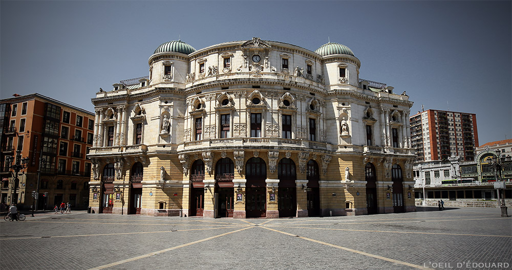 Théâtre Arriaga de Bilbao (Teatro Arriaga) © L'Oeil d'Édouard